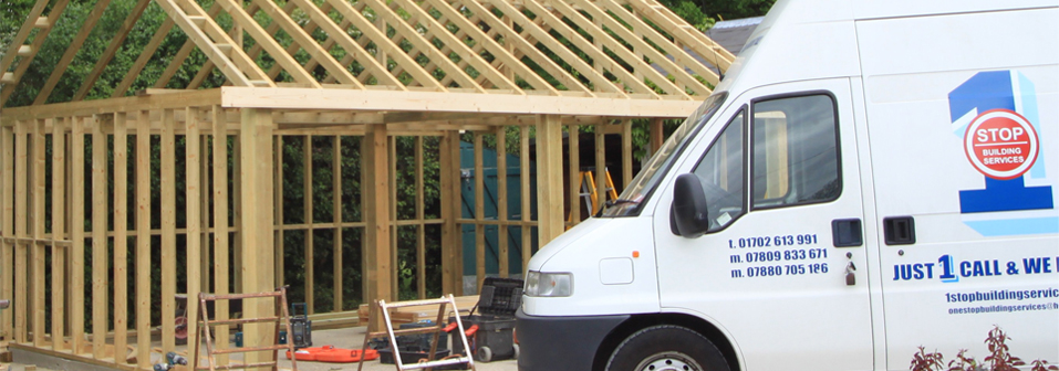 <strong>1 Stop Building Services</strong><br />With 45 years of experience within the building trade, we offer a full range of building services.